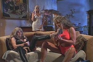 Lesbian Threesome with Monique Dane