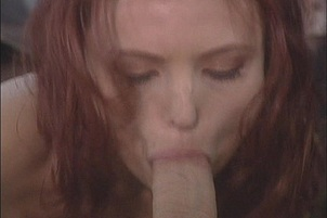 Young Redhead Banged In Abandoned Lot