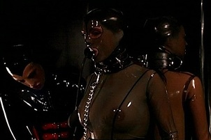 Mistress Jean Shackling Latex Babes