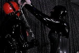 Mistress Puts A Slave Through His Paces