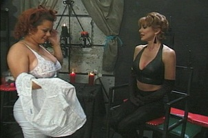 Dominatrix Tortures Some Natural Breasts