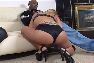 Black Cock Reams Trina Michaels' Ass