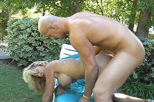 Blond Milf Sucks And Fucks To Orgasm