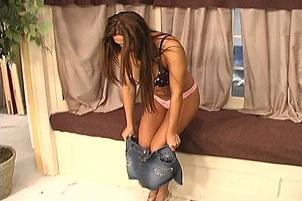 Busty Babe Alisandra Monroe Gets Spunked On