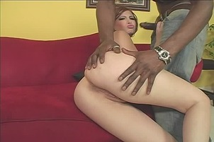 White Chick Fucks Big Black Dick