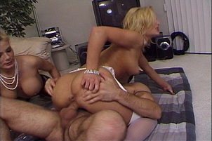 Beverly Hills Whores Share A Meaty Cock