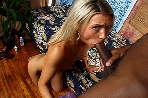 Cheating Wife Gets A Black Cock Stroking