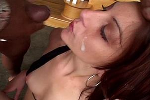 White Girls Splattered By Black Cocks