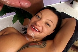 Triple Cumshot Compliation with Venus