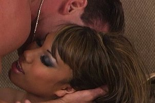 Hot Asian Chick Takes It In Both Holes