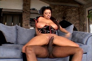 Big Titted Alexis Silver's Pussy Pounded