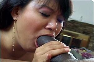 Kiwi Ling Takes On A Black Cock