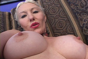 Mature Blond Dalny Gets Double Stuffed