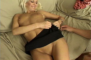 Desire Moore Rides In Reverse Cowgirl