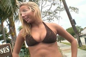 Ashley Jensen Bounces On A Nice Fat Cock