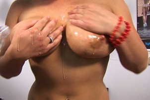 Busty Claire Dames Choked While Fucked
