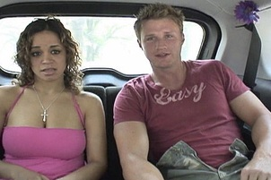 Busty Chavon Taylor Fucked In Back Seat