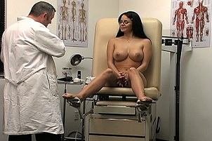 Sexy Mikayla Gets Full Body Health Check