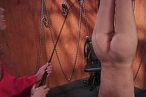 Leather and Whips and Painful Tits!