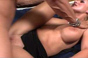 Beautiful Blonde Gets Asshole Stretched