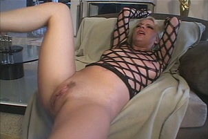 Nasty Blonde Wants A Chocolate Creampie