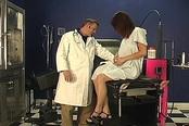 Petite Brunette Gets Orgasm Instructions