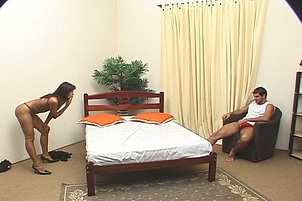 Brunette Gang Fucked By Bisexual Guys