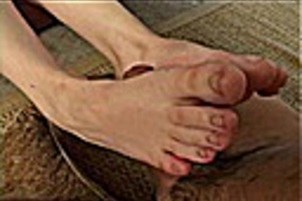 Young Trista Gives Her First Hot Footjob