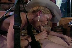 Julie Meadows In Massive Orgy