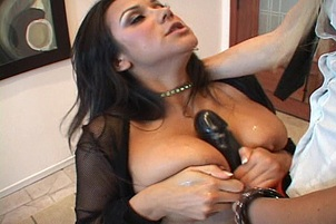 Nadia's Pussy Fucked Raw With Strap-on