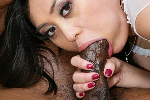 Asian Ruby Luxe Takes Big Black Dick