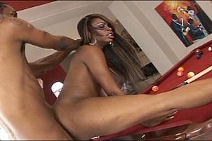 Nasty Ebony Deepthroat & Anal Huge Cock