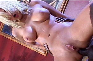 Staci Thorn Begs For Interracial Anal