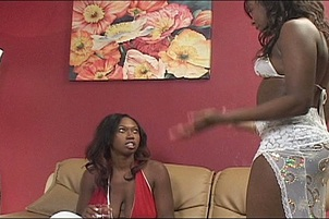 Amile Pleasures Her Angry Girlfriend