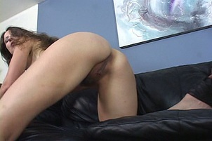 Horny Long Haired MILF Loves Hard Cock