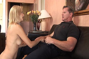 Muscular Stud Services Wet MILF Pussy