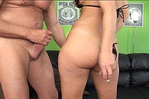 Dirty MILF Skank Swallows A Sticky Load