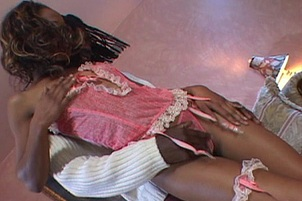 Misty Stone Takes On A Huge Black Cock