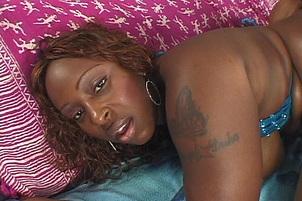 Ebony Hooker Skyy Black Facially Creamed