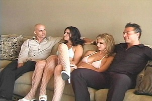 Ava Ramon and Brooke Banner in 4some