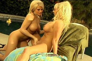 Mary Carey & Holly Halston Cum Hard