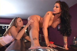 Slow And Easy Lesbian Sex Gets Them Off