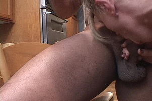 Married Blond Throat Fucked By Black Man