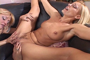 Horny Young Moms Get Lesbian Licked