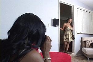 Black Lesbians Enjoying Ebony Pussy