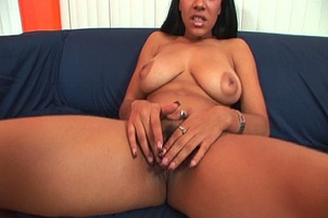 Massive Nipples Babe Gets Black Dick