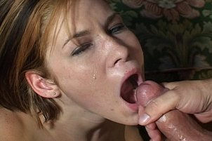Spunky Short Haired Chick Gets Dick
