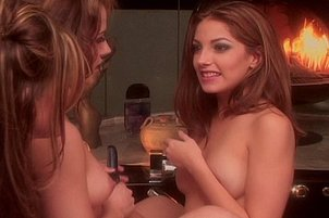 Lesbian Hotties Lick And Toy By Spa