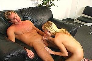 Nikki Hilton Gets An Eye Full Of Cum