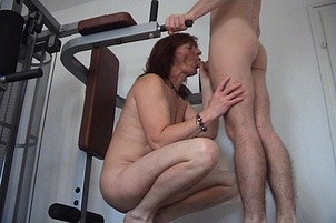 Harlot MILF Receives Messy Ass Creampie